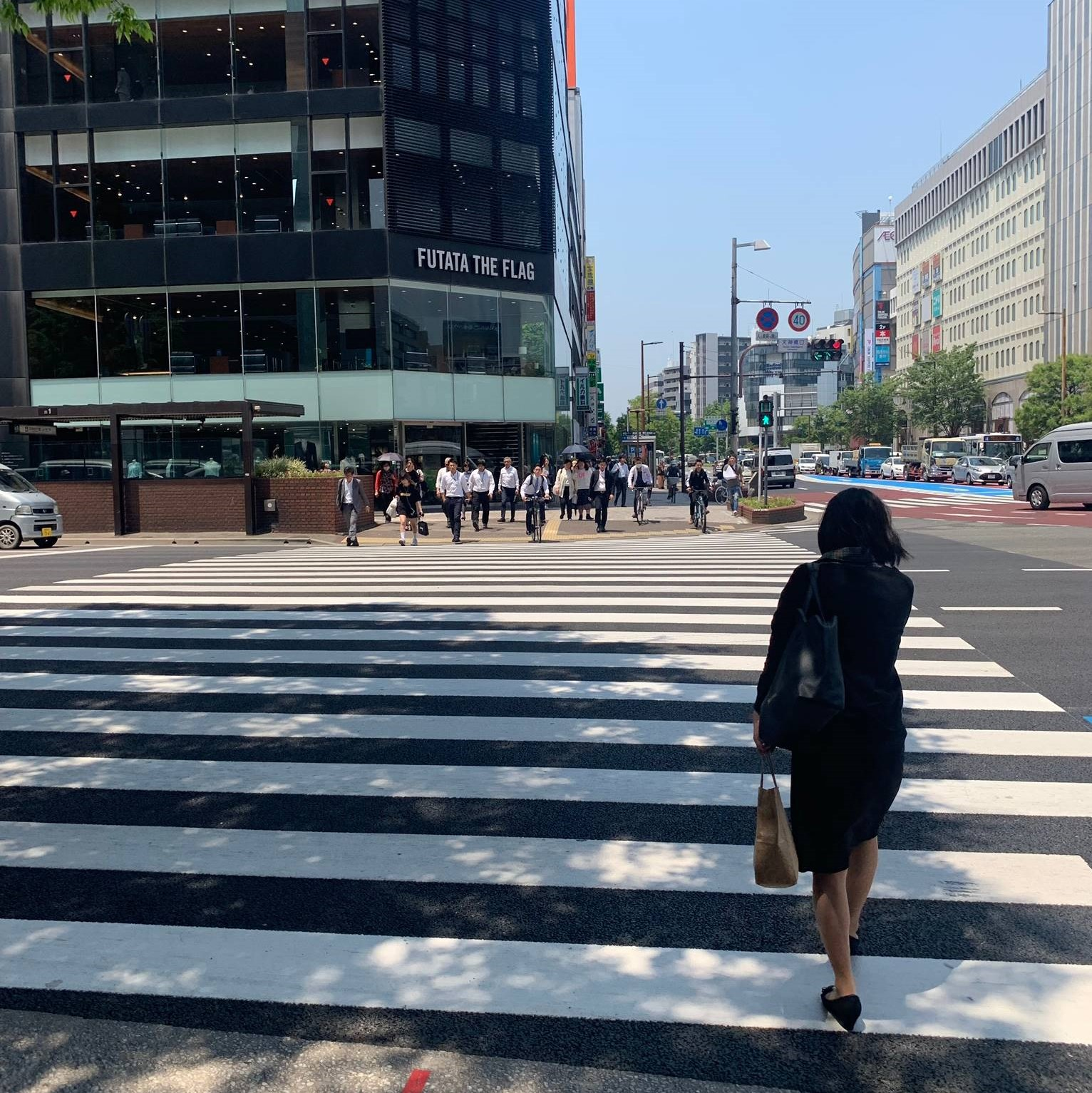 アップルジム福岡天神店までの道のり画像3