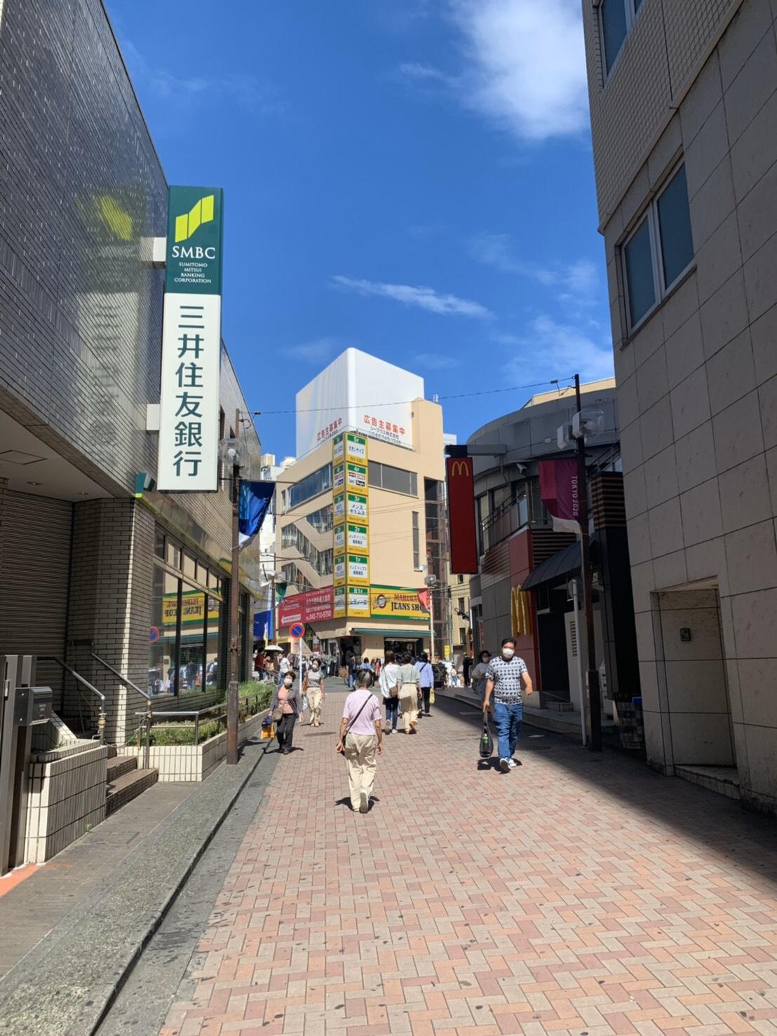 アップルジム町田店までの道のり1