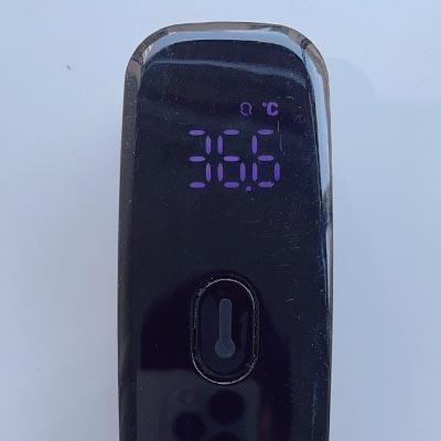 アップルジム銀座店コロナ対策-検温の実施