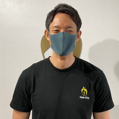 アップルジム蒲田店コロナ対策-トレーナーのマスク着用の義務化