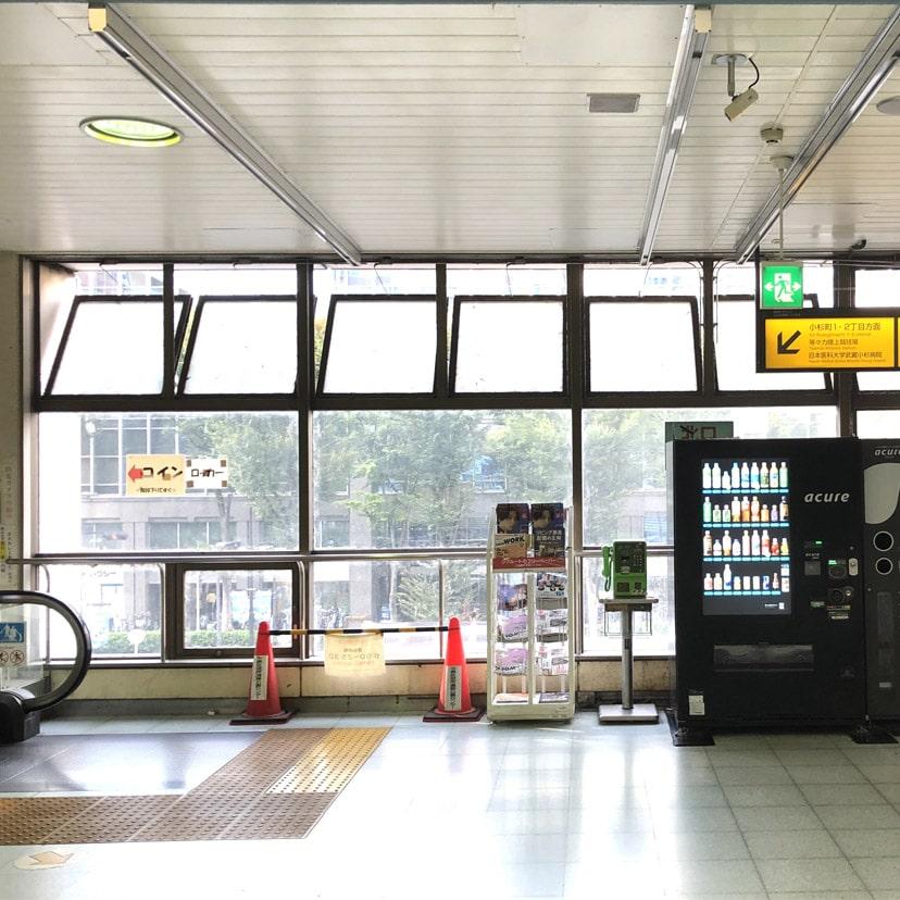 アップルジム恵比寿店までの道のり・駅の出口