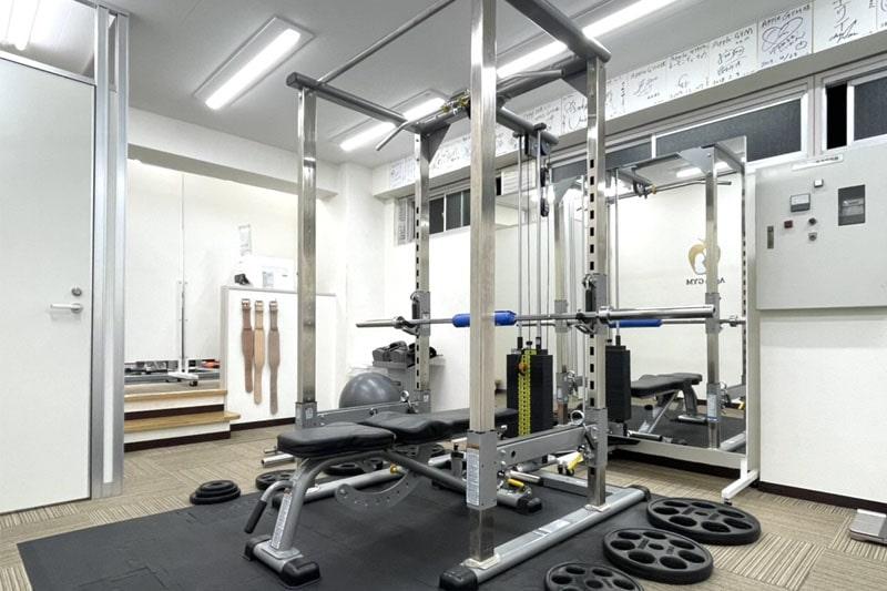 アップルジム中野店のジム画像・トレーニング機材
