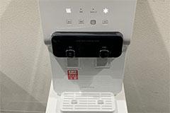 アップルジム新宿店のジム画像・飲み放題のウォーターサーバー