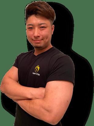 練馬店のパーソナルトレーナー柳本拓也2