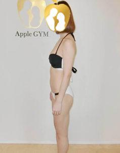 若菜なお,Apple GYM,ダイエット,ビフォーアフター