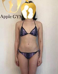 H.Y,Apple GYM,ダイエット,ジム,ビフォーアフター