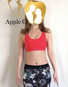 M.N,Apple GYM,ダイエット,ジム,ビフォーアフター