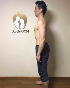 S.N,Apple GYM,ダイエット,ジム,ビフォーアフター