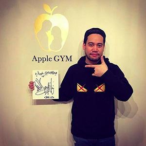 ジェイド,芸能人,Apple GYM