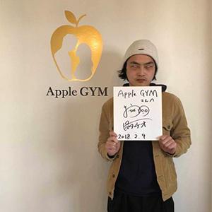 ピスタチオ 小澤慎一朗,芸能人,,Apple GYM