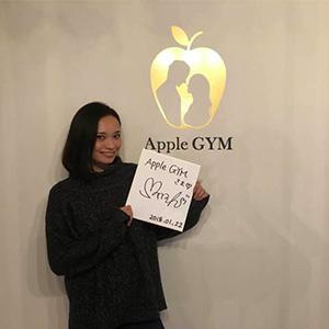 本田未奈,芸能人,Apple GYM