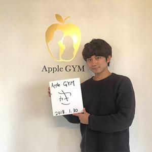 松浦司,芸能人,Apple GYM