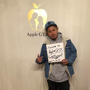 DJ HAL,芸能人,Apple GYM