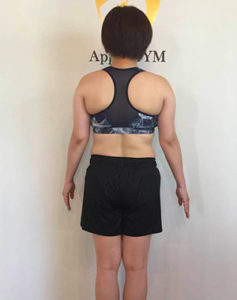 T.A,Apple GYM,ダイエット,ビフォーアフター